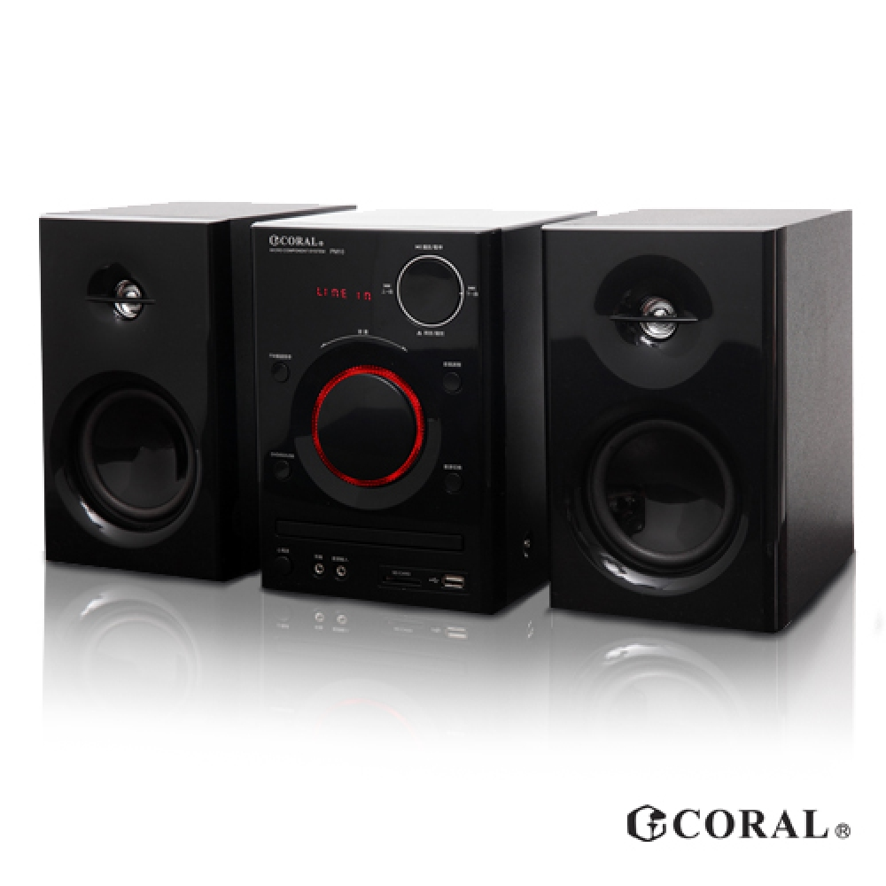 CORAL PM-10 Bluetooth Bedside Theater Audio